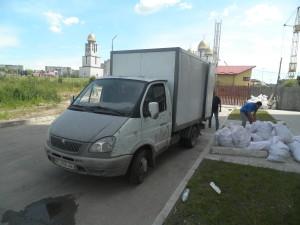 ВИвіз будівельного сміття Газель