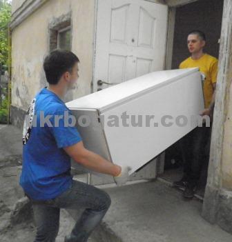 Акуратне перевезення пральної машини - Український Богатир