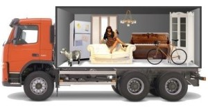 Вантажне авто для переїзду