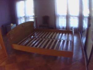 Складання ліжка з ламелями