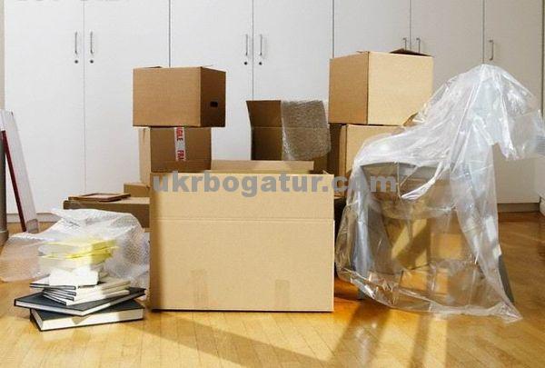картонные коробки - Украинский Богатырь