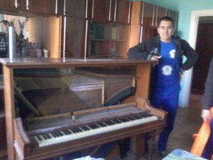 перенос пианино