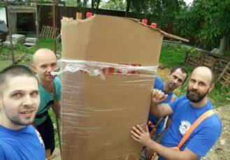 перенесення на такелажних ремнях - Український Богатир