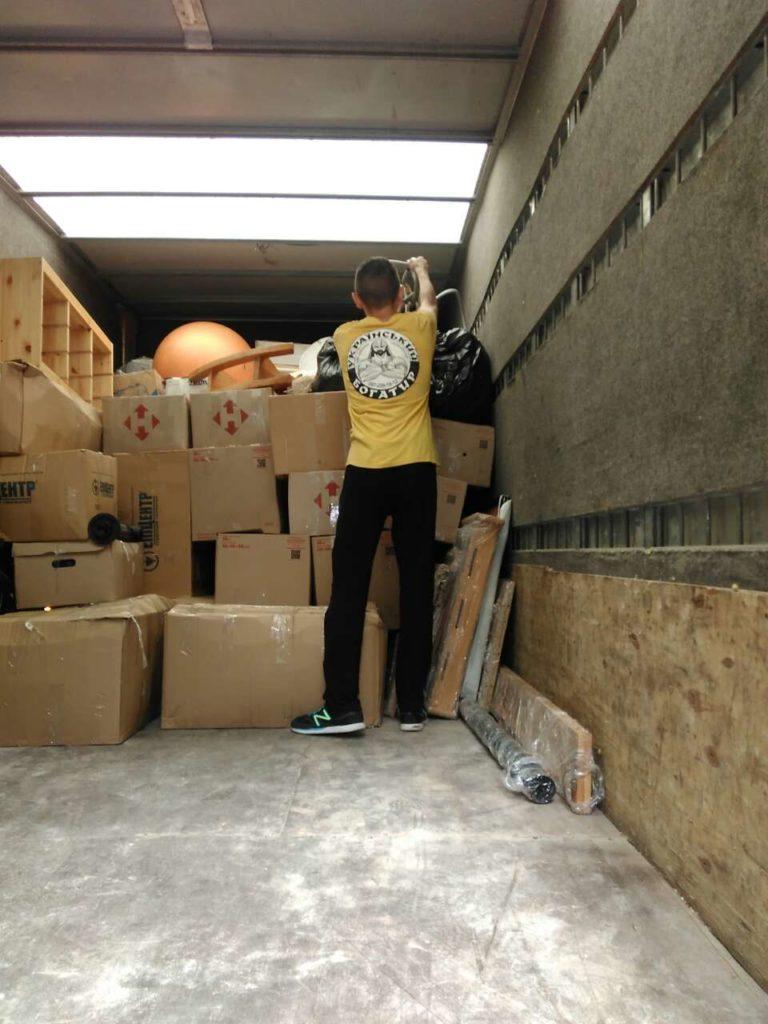 хранение мебели на складе - Украинский Богатырь