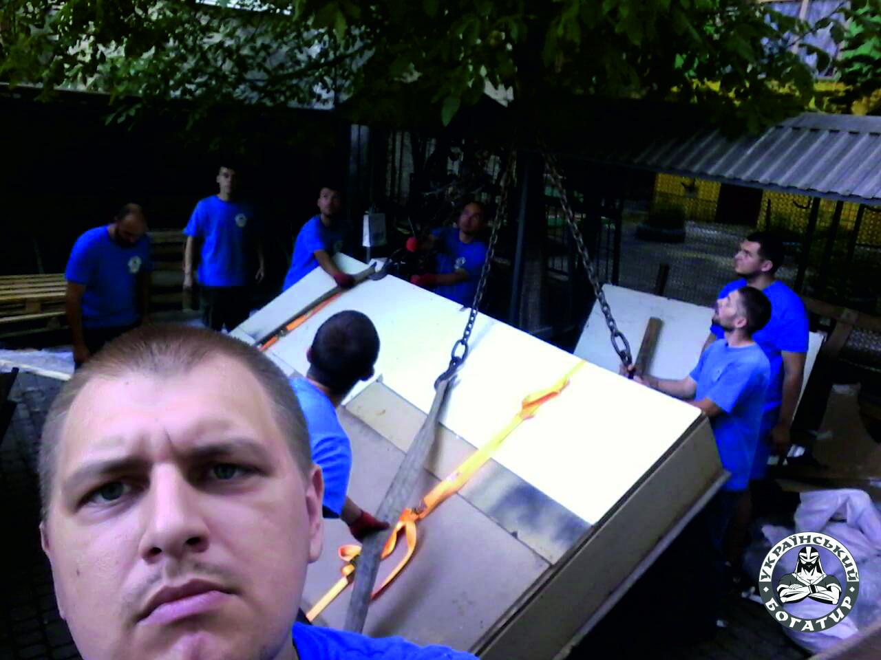 услуги манипулятора Львов - Украинский Богатырь