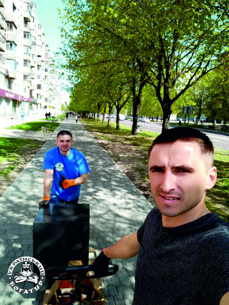 перевозка отделения банка - Украинский Богатырь