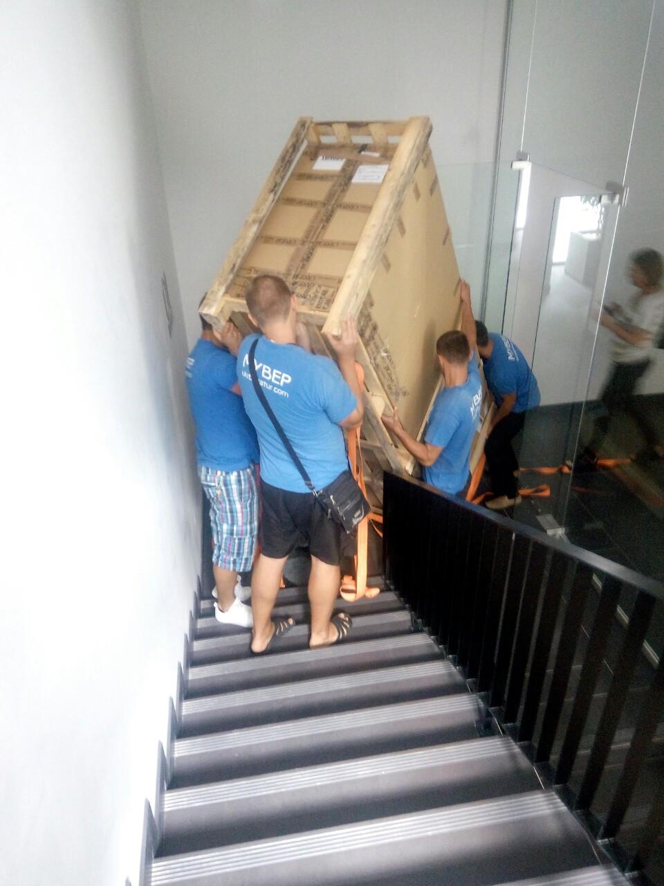 перевезти вещи в контейнере - Украинский Богатырь